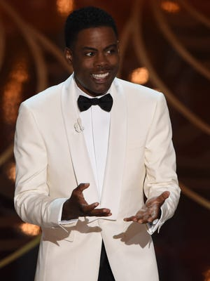 Chris Rock hosts the 88th Oscars on Feb. 28, 2016 in Los Angeles.