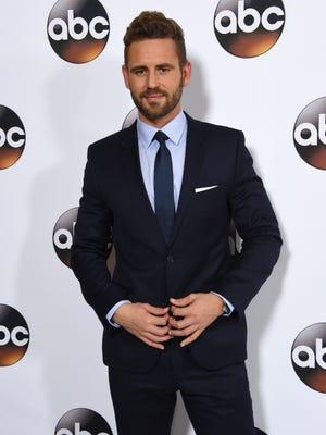 Nick Viall, 36   Partner: Peta Murgatroyd   He's the current star of 'The Bachelor.'