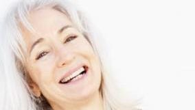 Long hair can make older women feel youthful.