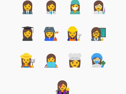 Google Women Emojis
