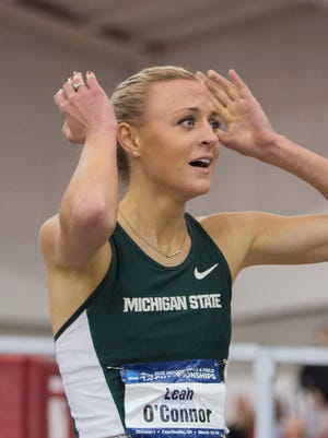 Michigan State's Leah O'Connor