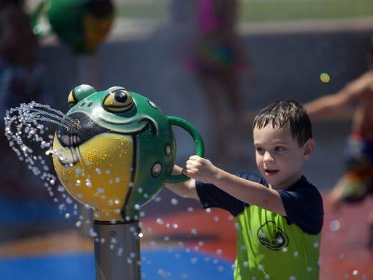 Rio Vista Community Park splash