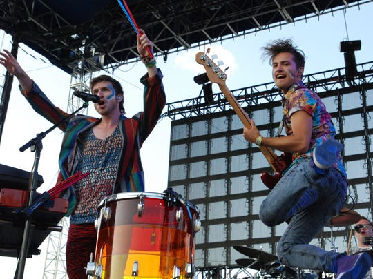 Walk the Moon performs at Bunbury in 2013.