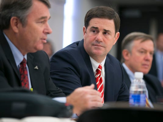 Gov. Doug Ducey and Arizona Board of Regents