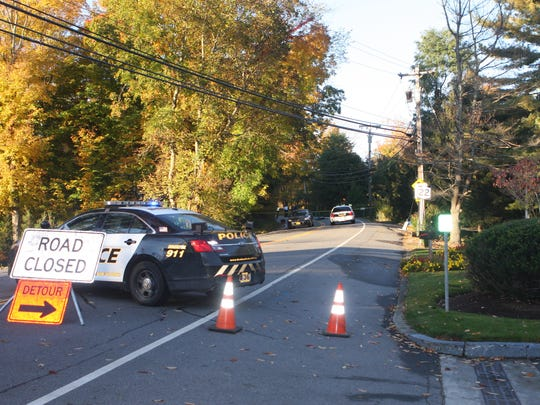 Route 22 in Bedford is closed  at Route 172 as police
