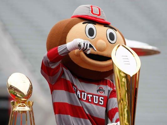 NCAA Football: National Championship-Ohio State Celebration