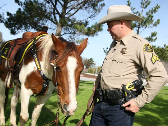 Monterey County Sheriff's  Office Sgt. Ron Willis is