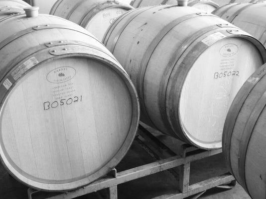 Swedish Hill Winery barrels from CWT