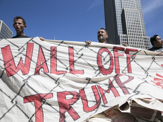 Immigrant-rights activist group Mijente, the Ruckus