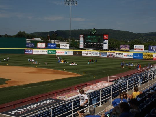 """The Little League World Series U.S. final """"Official Watch Party"""" was held Saturday at NYSEG Stadium."""
