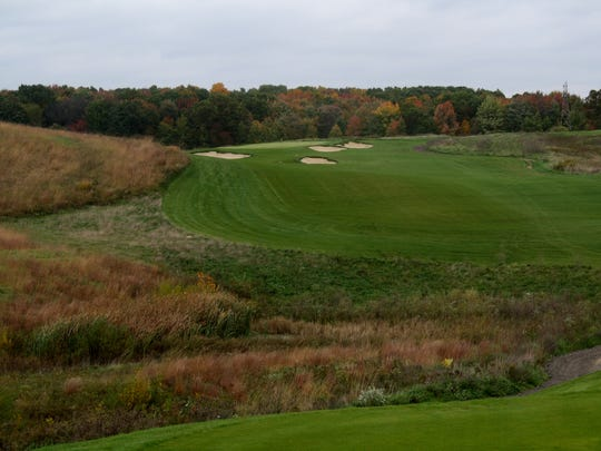 From the No. 10 tee box at Stoatin Brae in Augusta, Mich.