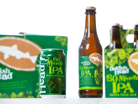 Dogfish Head's first canned beer was released last month.