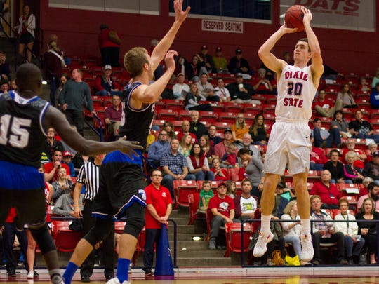 The Dixie State men's basketball team is making its seventh NCAA Tournament appearance in its last eight seasons.