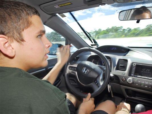 TEEN DRIVER CHALLANGE