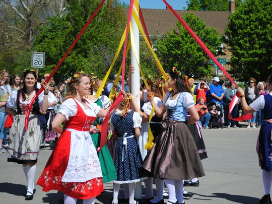 Maifest happens Sunday at the German Heritage Museum in Green Township.