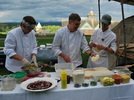 The 21st-annual Vermont Fresh Network dinner takes place Sunday at Shelburne Farms.