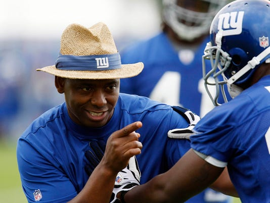NFL: New York Giants Mini Camp