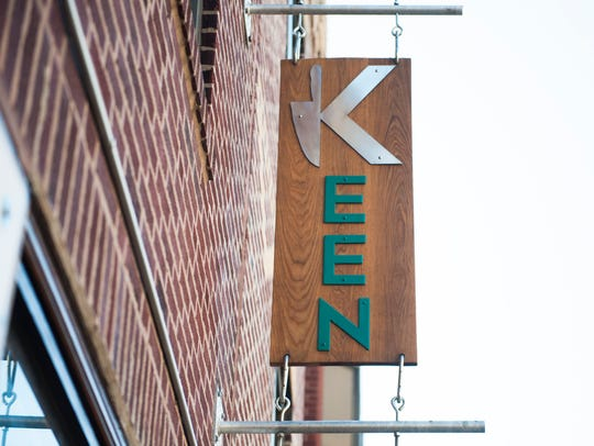 The exterior of the highly branded Keen.