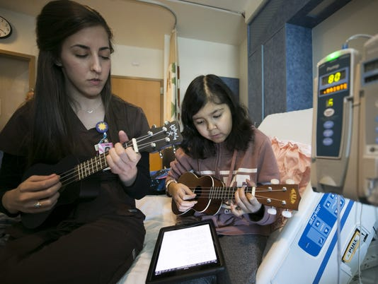 Music therapy at Cardon Children's Medical Center