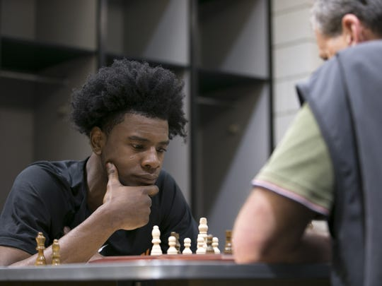 The differences between chess and basketball are obvious, but it's the similarities that attract Josh Jackson.