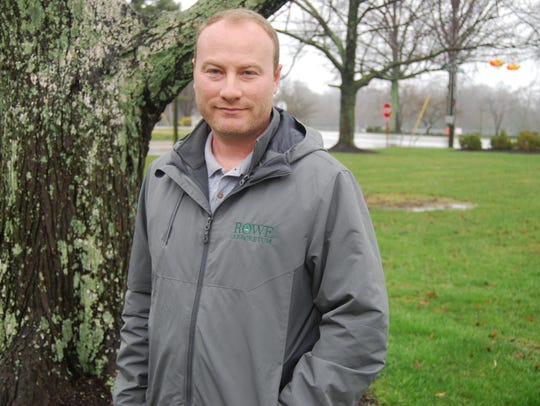 Village arborist Jason Donovan is helping to restore