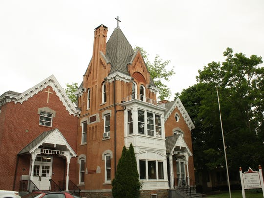 The Blessed Trinity and St. Patrick Parish Center is located on 309 Front Street in Owego.