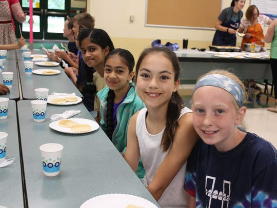 Students at Vestal Hills Elementary School celebrated