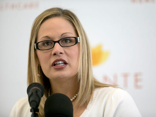 Kyrsten Sinema, congresista de Arizona