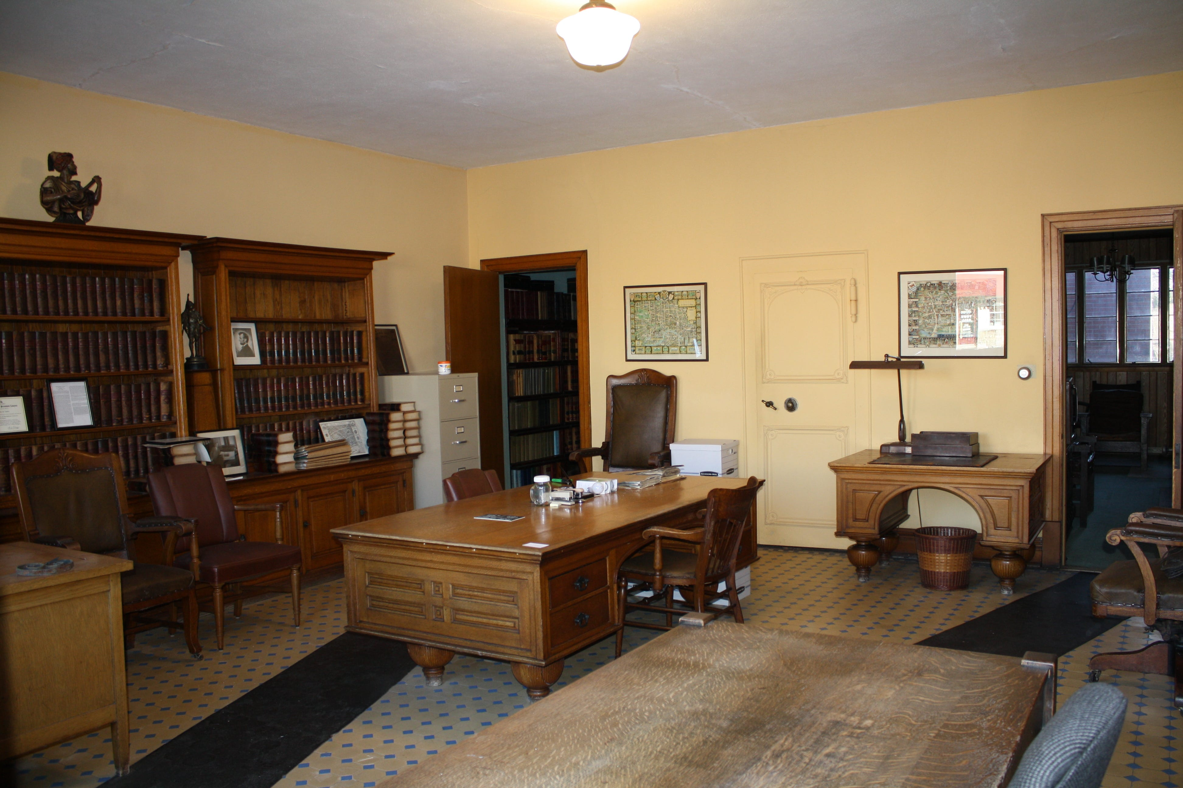 The Front Room At The Fraser U0026 Isham Law Office.
