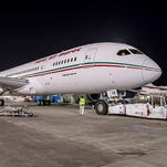 Royal Air Maroc's first Boeing 787 is seen at Boeing's factory in Everett, Wash., just ahead of its delivery to the airline on Dec. 31, 2014.