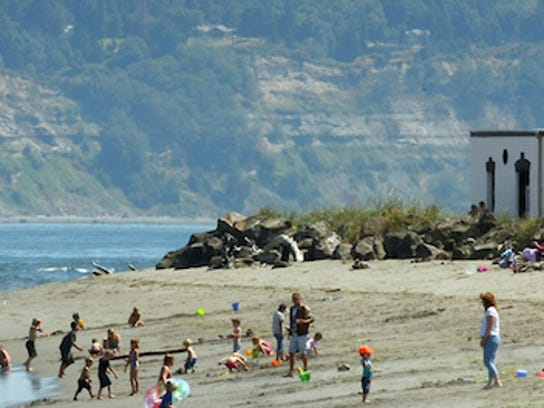 Point No Point in Hansville is a popular beach when the weather gets warm.