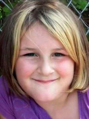 MaKayla Dyer, 8, killed by a shotgun blast Saturday, Oct. 3, 2015, in White Pine. An 11-year-old boy is charged with her murder.  (FAMILY PHOTO)