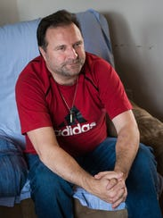 Kevin Heiland, who experience symptoms of dementia,