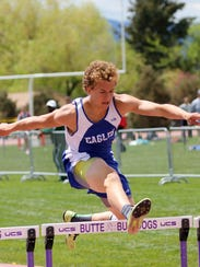 Dawson Allen of Fairfield is an exceptional hurdler