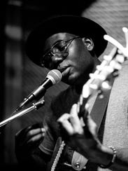 Jibs Brown & the Jambros, a blues and soul act, perform