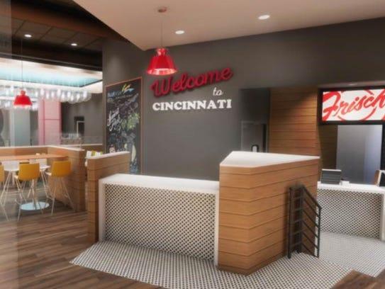Rendering of Frisch's new Downtown restaurant opening