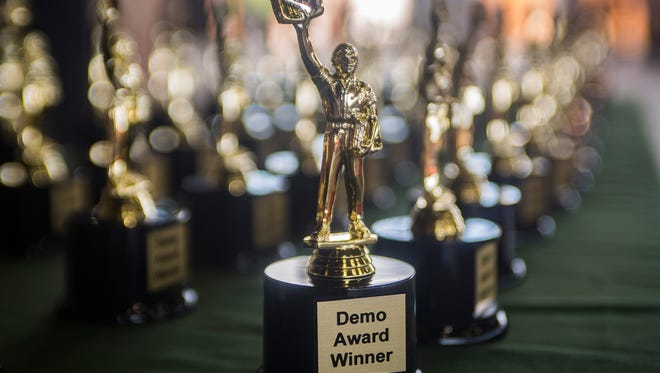Tallahassee bars, businesses and restaurant will compete for the big trophy during the second annual Demo Awards in early June.