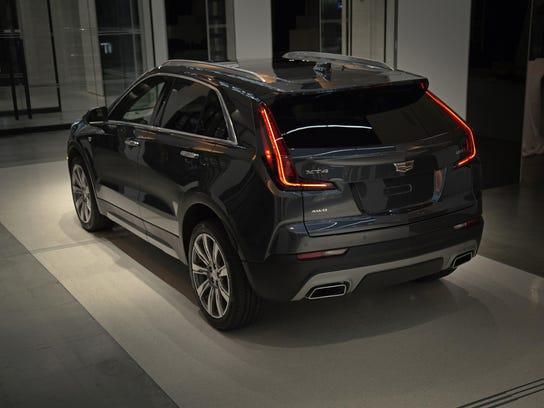 Cadillac's new XT4 crossover.