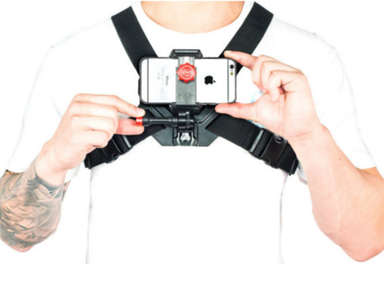 The $49.95 Velocity Clip+Chest Mount turns an old smartphone