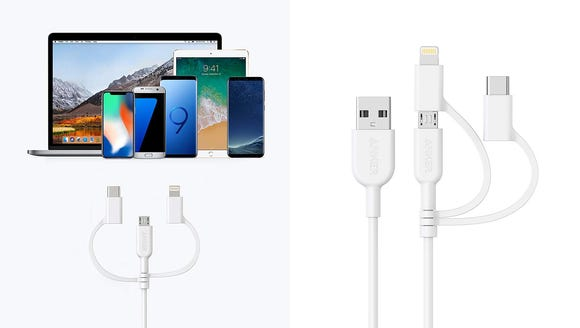 Would you rather carry 3 cables around all the time,