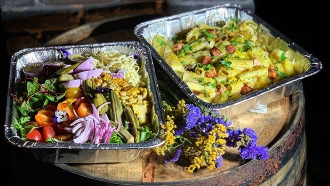 Voodoo Bayou has added a mini-mart to its takeout and delivery operations. The Palm Beach Gardens restaurant sells basic grocery store items as well as meals to go.