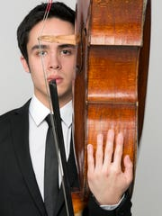 Cellist Jay Campbell, a member of the JACK Quartet, will perform Ravel's Sonata for Violin and Cello suring the Ojai Music Festival on June 9.