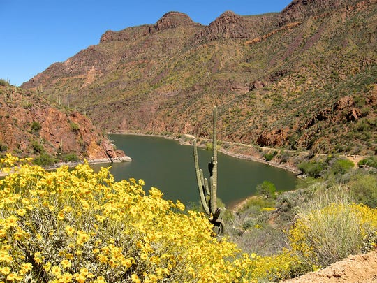 Although much of the Apache Trail is unpaved, it's