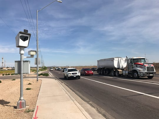 El Mirage photo-enforcement cameras provided the city withmore than $1 million annually after covering programexpenses, city data from 2012 to 2016 shows. That revenue dramatically shrank after a state law forced the city to yank cameras off Grand Avenue.