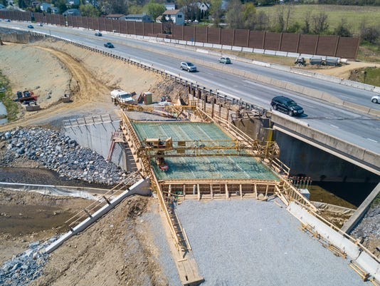 Mt. Rose Ave/I-83 Construction