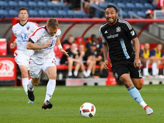 MLS: U.S. Open Cup-Indy Eleven at Chicago Fire