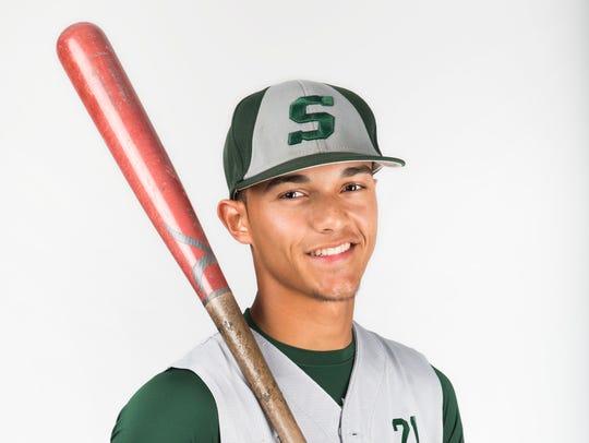 2017 Spring Player of the Year finalist Josue Rivera,