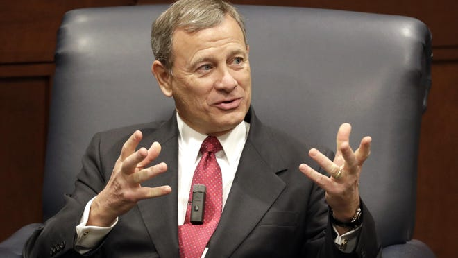 Supreme Court Chief Justice John Roberts would preside over a Senate impeachment trial of President Donald Trump.