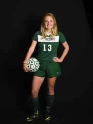 Girls soccer player of the year, Morgan Dominick from