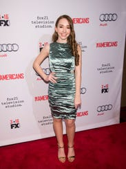 Holly Taylor, who plays Paige Jennings on FX's 'The